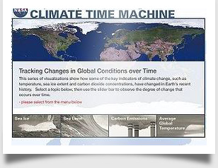 Be A Global Climate Change Time Traveler