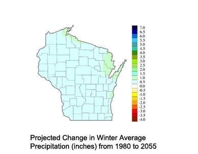 Reduced Snow and Ice Cover