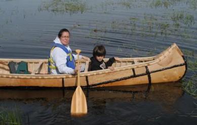 Making a Birch Bark Canoe