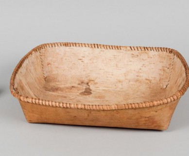 Learn About Manoomin and How to Make a Noshkaachinaagon (wild rice winnowing basket)